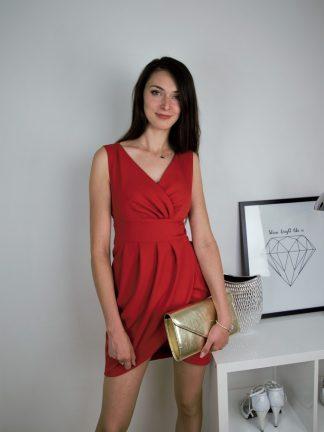 Sukienka Tulipan w kolorze czerwonym